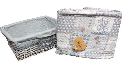 Zoom IMG-1 russo tessuti trapuntino copriletto letto