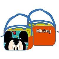 Disney Mickey Mouse Lunchbag Kindergartentasche 22x17x7 cm preisvergleich bei kinderzimmerdekopreise.eu