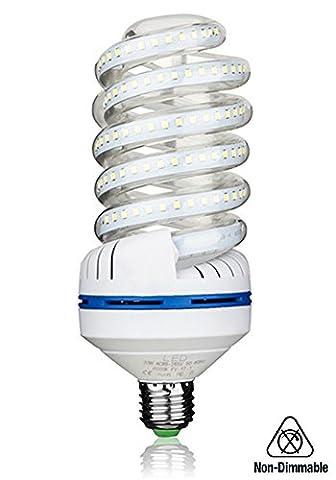Ampoule LED E27, 30W Equivalence incandescence 250 W, 2700 Lumen LED lampe Blanc Froid(6000k), 360 ° Angle de faisceau, AC 85~265V, Lot de