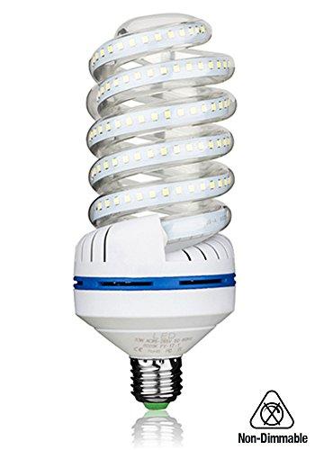 Preisvergleich Produktbild Bro. LED-Lampe, 30 W, E27, entspricht 250 Watt, Kaltweiß, 6000 K, sehr hell, 3000 Lumen, nicht dimmbar, 1 Packung