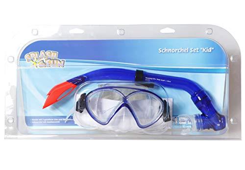 Splash & Fun Maske + Schnorchel ''Kid'', Silikon, 8+ -