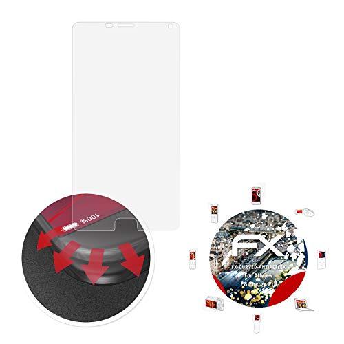 atFolix Schutzfolie passend für Allview P8 Energy Pro Folie, entspiegelnde & Flexible FX Bildschirmschutzfolie (3X)