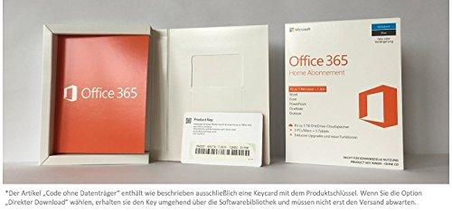 Microsoft Office 365 Home multilingual | 5 Geräte | 1 Jahresabonnement | PC/Mac | Download - 3