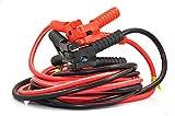 XINCOL A5 Strapazierfähiges Schwerlast-Starthilfekabel - 2500 A - 100%-Kupferdraht-Starthilfekabel für LKWs - wärmeisoliert - mit Tasche - 5 M