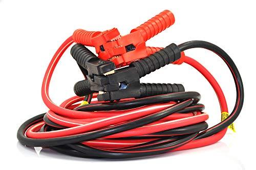 XINCOL A5 Strapazierfähiges Schwerlast-Starthilfekabel - 2500 A - 100{2a598f27a26b76e827b3de476fb0891b60efd4af080a6b32ac30fd52deb5e230}-Kupferdraht-Starthilfekabel für LKWs - wärmeisoliert - mit Tasche - 5 M