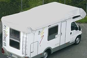 Hindermann Tyvek Bâche de protection pour toit (Taille cadre: 700 x 300 cm)