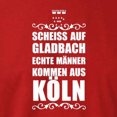 TEXLAB - Scheiss auf Gladbach - Langarm T-Shirt Schwarz