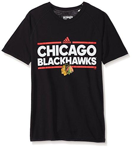 Climalite Performance T-shirt (adidas Chicago Blackhawks NHL Dassler Climalite Performance S/S T-Shirt)