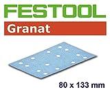 FESTOOL 499628 Schleifstreifen STF 80X133 P100 GR/100