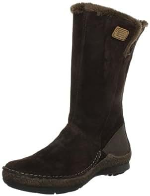 camel active Bormio 72 775.72.02, Damen Fashion Stiefel, Braun (peat/mocca), EU 37 (UK 4)