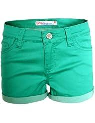 Eight2Nine Damen Bermuda Chino Short kurze Hose 5-Pocket Style MOD 541 Sommershort