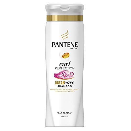 Pantene Shampooing hydratant Pro-V Dry to Moisturized - Hydrate, contrôle les frisottis et définit les boucles - Cheveux bouclés - 372 ml