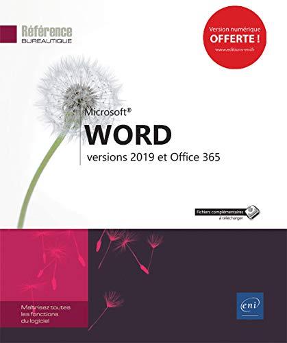 Word - versions 2019 et Office 365 par Collectif