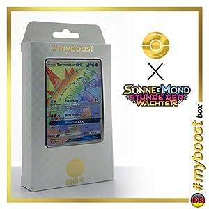 Turtonator-GX 148/145 Arcoíris Secreta - #myboost X Sonne & Mond 2 Stunde Der Wachter - Box de 10 Cartas Pokémon Aleman