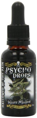 Dr Burnörium's Psycho Drops Killer Million - Puro Extracto De Capsaisina Gotas Picantes Extremas