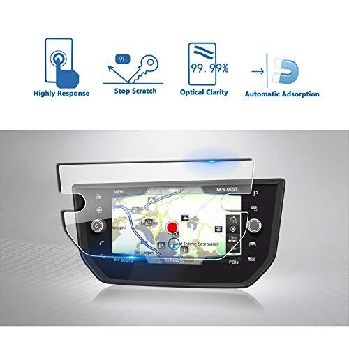 LFOTPP Seat Arona 8 Zoll Navigation Schutzfolie - 9H Kratzfest Anti-Fingerprint Panzerglas Displayschutzfolie GPS Navi Folie