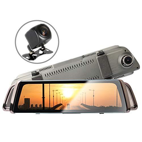 SJZC HD-Autokamera 1080P DVR-Armaturenbrett WDR-Kamera VCR-Kameras im Fahrzeug 170 ° Betrachtungswinkel LCD-Monitor Kreisförmige Aufnahme G-Sensor-Bewegungserkennung Z06 Ir-kamera-power-usb-dvr