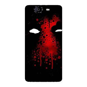 Red Horror Back Case Cover for Canvas Knight A350