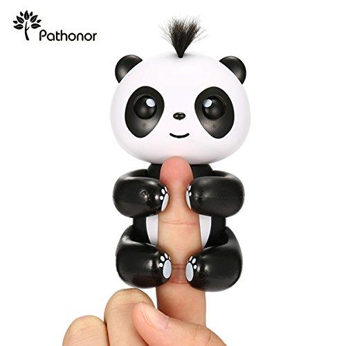 2018 Elektronischer Panda Spielzeug, PATHONOR Panda Elektronischer Smart, Intelligente Interaktives Finger für Kinder Weihnachten Geburtstagsgeschenk