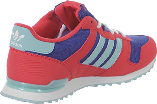 adidas ZX 700 Unisex-Kinder Sneakers Rojo / Azul / Verde / Blanco