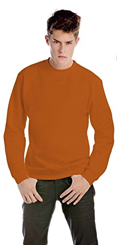 CHEMAGLIETTE! Herren Sweatshirt Orange