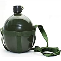 Outdoor Camping Tactical Military 1.2 L Bottle Kettle