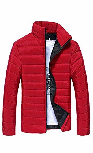 SUProcer Herren Winter Down Puffer Jacke Mantel Packable Ultra Light Weight (Packable-frauen Puffer-jacke)