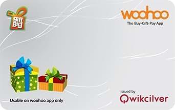 GiftBig woohoo gift card