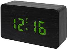 Comprar Bresser 8020400 cm 3GRE MyTime W reloj despertador con pantalla LED de colour verde/negro (importado)