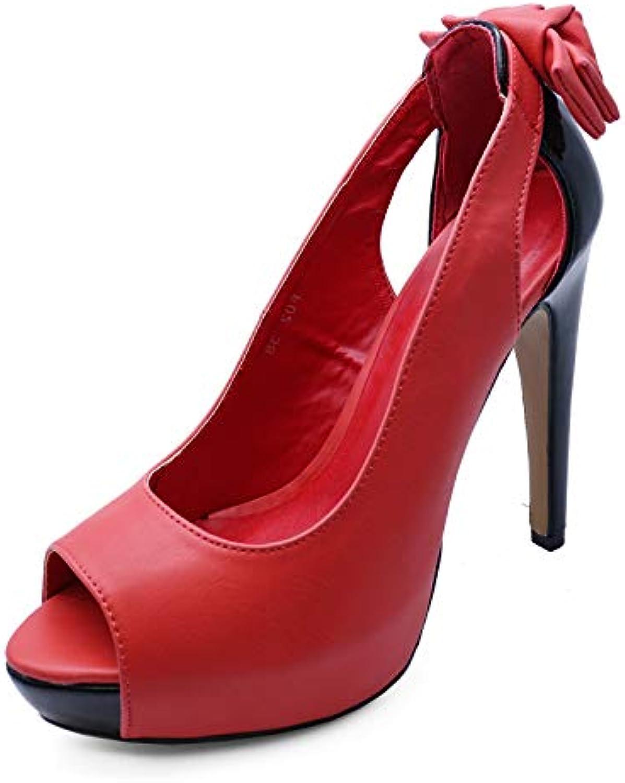 e72b74cea04b Ladies Shoes Slip-On Red Peep-Toe Platform 2-7 Exotic Parent Party Evening High  Heel Shoes Sizes 2-7 B07HMHNDYK Parent 92c07bc