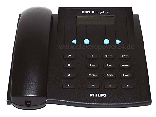 Philips Sopho ErgoLine E320 ISDN schnurgebunden Telefon Detewe Beetel 52i
