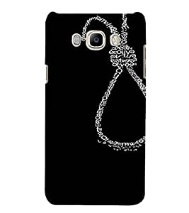 PrintVisa Waste of Life Design 3D Hard Polycarbonate Designer Back Case Cover for Samsung Galaxy J7 2016 Edition
