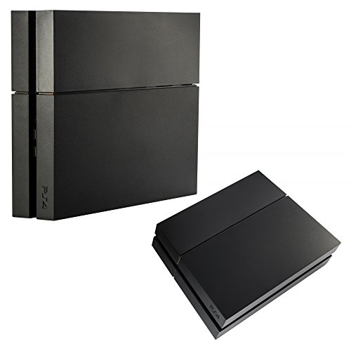 eXtremeRate PS4 HDD Bay Festplattenabdeckung Festplatten Abdeckung Faceplatte Kits Gehäuse für Playstation 4 PS4 Console Schwarz - Gehäuse Playstation 4
