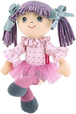 Goula - Alice, muñeca, color lila (Diset 52001)
