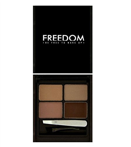 Freedom proartist - Eyebrow sopracciglia Kit Pro - Medium Dark, 4 G