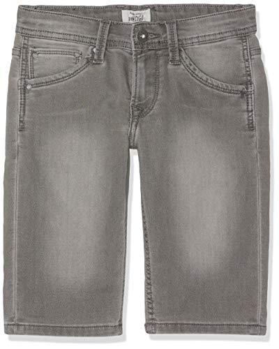 Pepe Jeans Cashed Short Bañador, Negro Black Denim Wk1, 13-14 años Talla del Fabricante:...