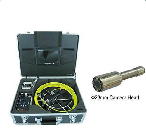 GOWE Industrial Plomería Alcantarillado Pipe inspección cámara con cable de 30m y DVR función Sensor tamaño: 1/4'; horizontal Resolución: 420TVL,; Sistema de señal: NTSC