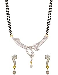 YouBella Traditional Jewellery Gold Plated Jewellery Set for Women (Golden) (YBMS_10002A)