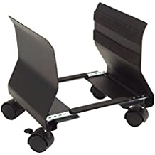 Phoenix Technologies PH605CPUB - Soporte CPU acero (adaptable con ruedas) color negro