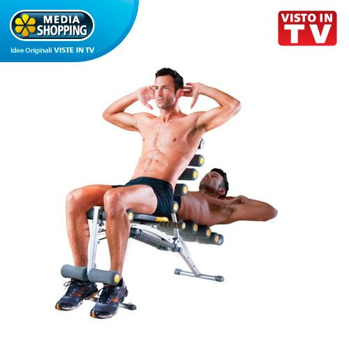TB TRAINER total body panca multifunzione allenamento addominali originale Mediashopping visto in tv
