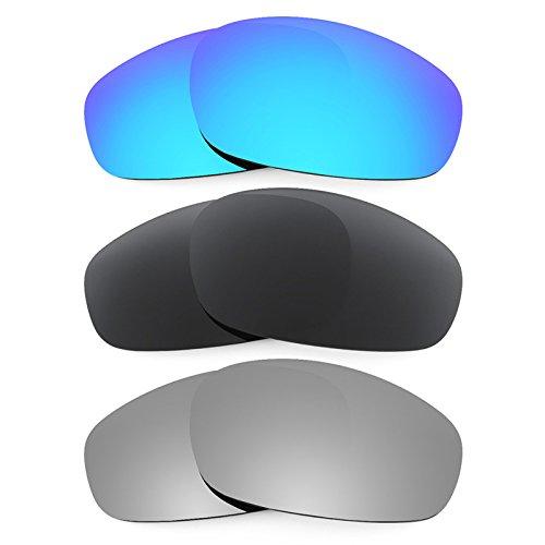 Revant Ersatzlinsen für Oakley Split Jacket Polarisiert 3 Paar Kombipack K015