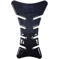 Protection Réservoir Adhésive 3D pour Motos Sport, Carbone, 20 x 13 cm