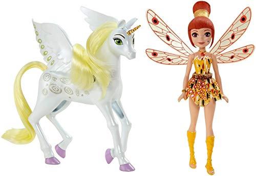 Mattel chj99 - MIA and ME Mini Poupée et Licorne