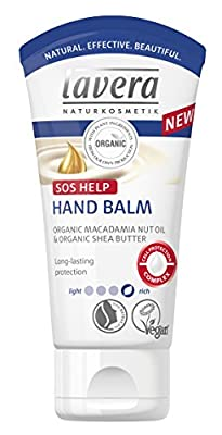 lavera Hand Balm SOS Help ∙ Long Lasting Protection ∙ Rich Formula ∙ Vegan ✔ Organic Skin Care ✔ Natural & Innovative Cosmetics ✔ 50ml