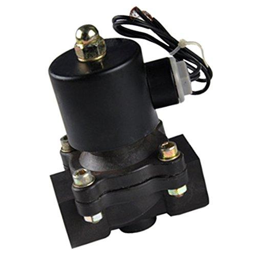 MagiDeal Kunststoff Elektrisches Magnetventil Für Wasser Luft Öl Brennstoffe Normally Geschlossen - 20mm DC12V -