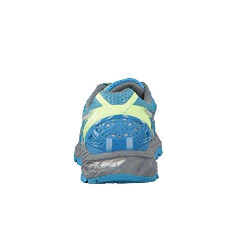 Asics Gel Fuji Trabuco 4 Neutral Trail Laufschuhe MOSAIC BLUE/SILVER/INDIGO BLUE