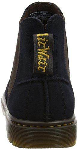 Dr. Martens Herren Lyme Biker Boots Blau (Navy Bronx Suede)