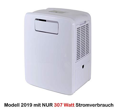 HUKITECH 4in1 Klimagerät Frost 3000 - JETZT NUR 307 Watt statt 360 Watt Stromverbrauch - NUR 49-50 dB (A) bei 1 m Entfernung - Kühlung Heizung Luftbefeuchtung 2 Kühlmöglichkeiten Klima Gerät