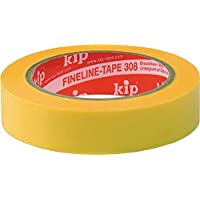 KIP 308 WASHI-TEC® PREMIUM PLUS - gelb 25mm x 50m