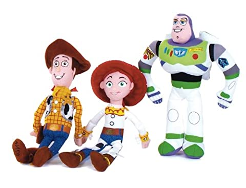 Disney Toy Story 3 peluche mis Woody, Buzz et Jess